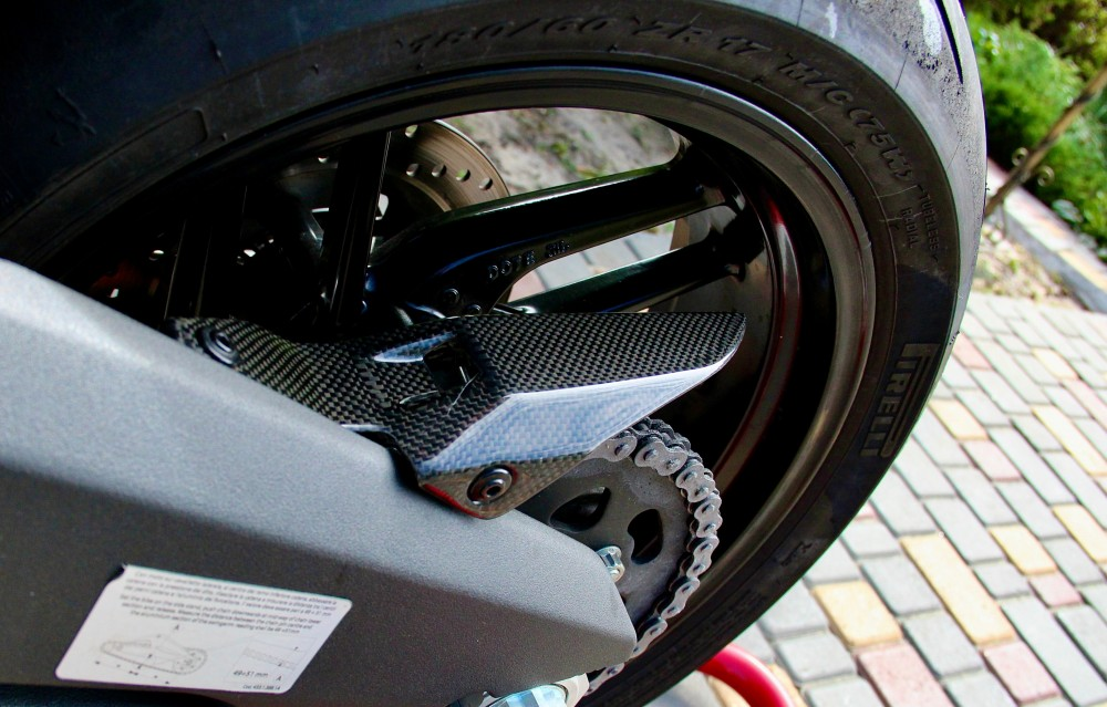 Ducati Panigale Rear Sprocket Chain Guard Cover