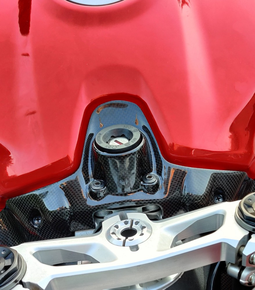 Ducati Panigale Ignition Key Cover