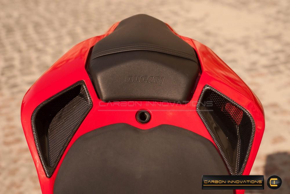 Ducati 848/1098/1198 Rear Tail Seat Air Vents
