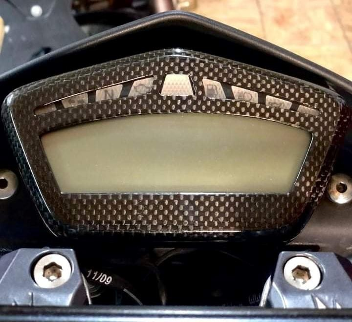 Ducati Streetfighter 848/1098/1098S Gauge Dash Board Cover