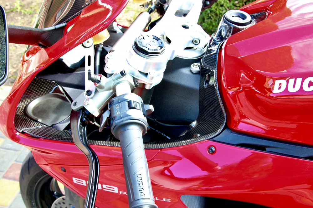Ducati Panigale Ignition Key and Air Intake Cover