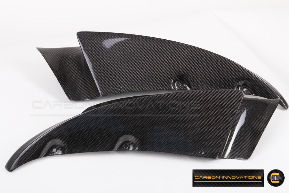 BMW M3 (E90, E92, E93) Front Bumper Lip Splitters