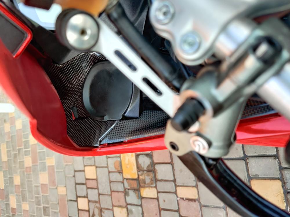 Ducati Panigale Air Intake Ram Dash Cover