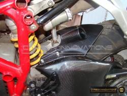 Ducati 848/1098/1198 Rear Small Fender Hugger